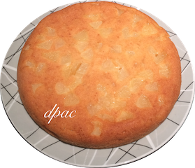 Sans oeufs # 1 – Gâteau auxpommes
